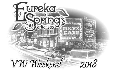 Transporter Authority Eureka Springs VW Weekend T Shirts