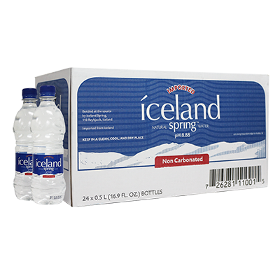 1 Box of 500ml Iceland Spring Water 00001