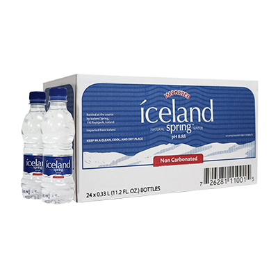 1 Box of 330ml Iceland Spring Water 00000