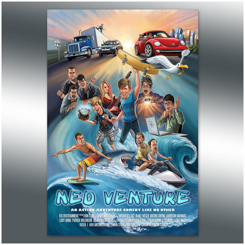 Ned Venture Poster 004