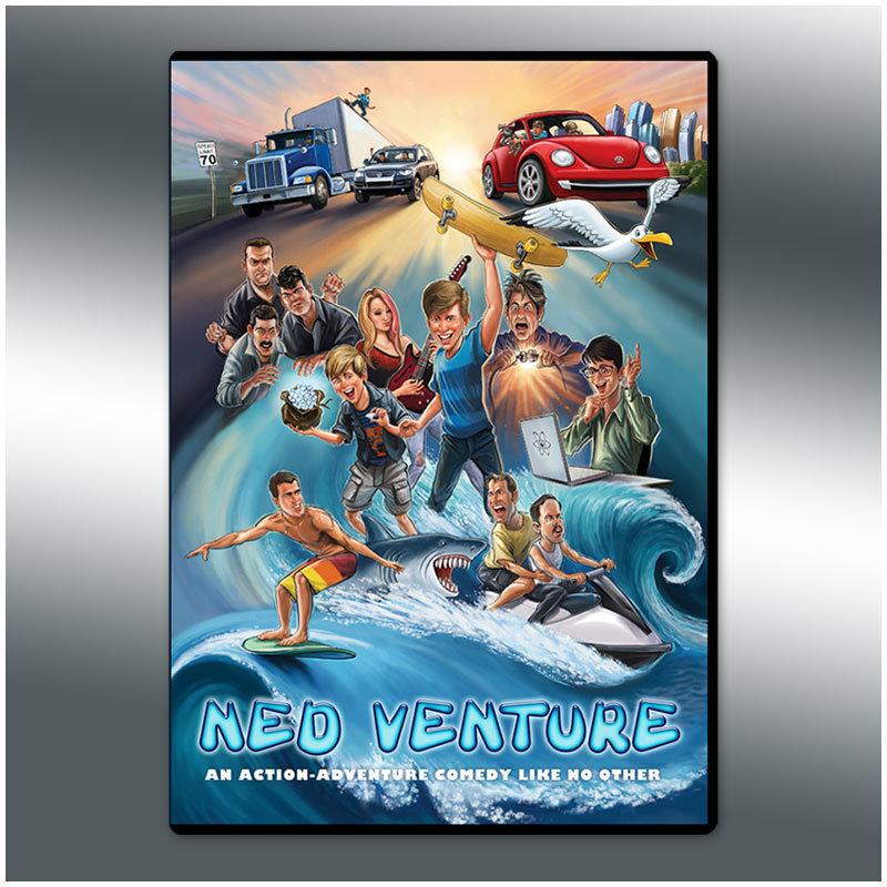 Ned Venture DVD 001
