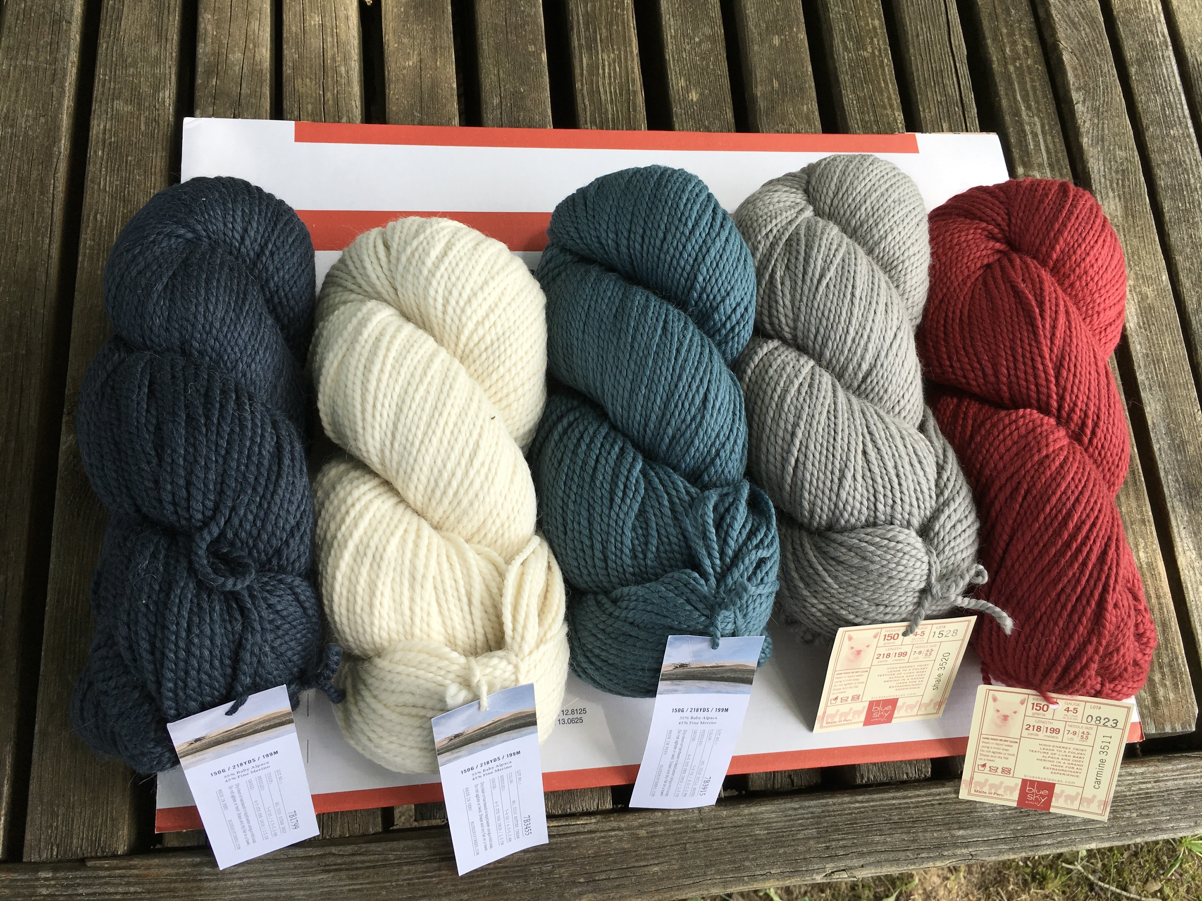 Color choices for North Hollow Cowl Kit only...individual skeins not available for purchase 1703A