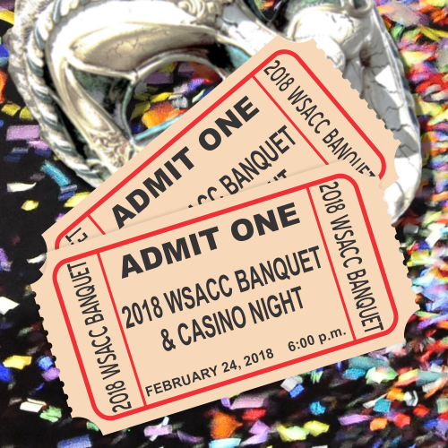 2018 Annual Banquet & Casino Night Ticket - Two Tickets BANQ-TK-TWO-40