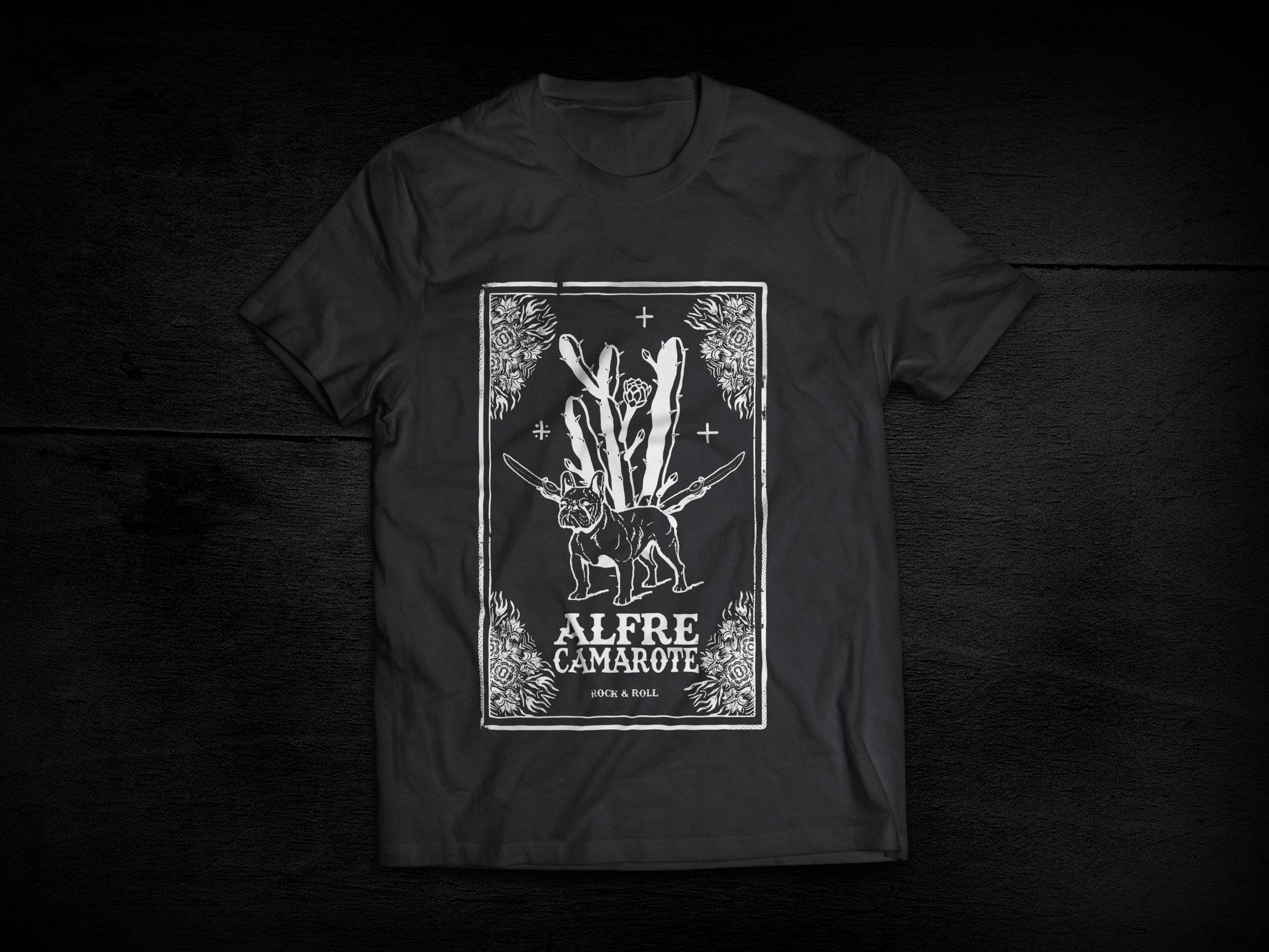 Camiseta Cactus Alfre Camarote ALF01