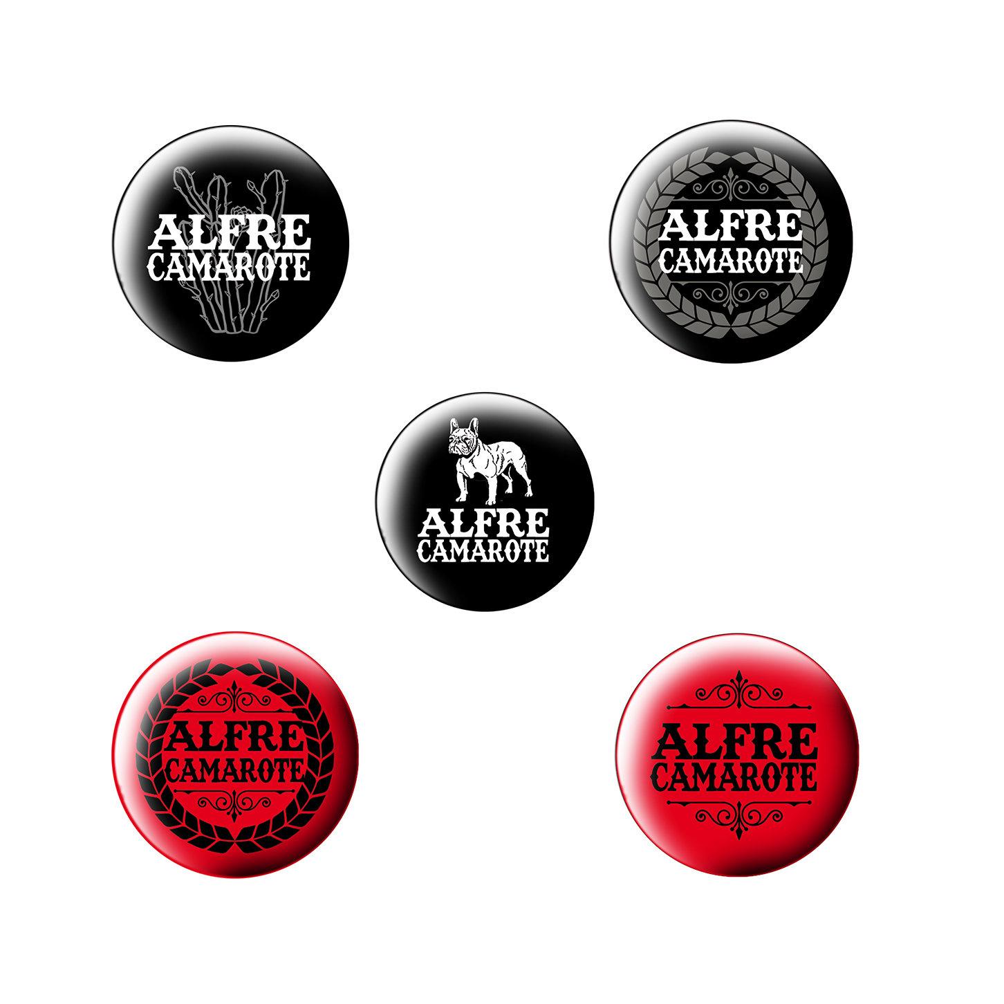 Pack 3 chapas ALF05