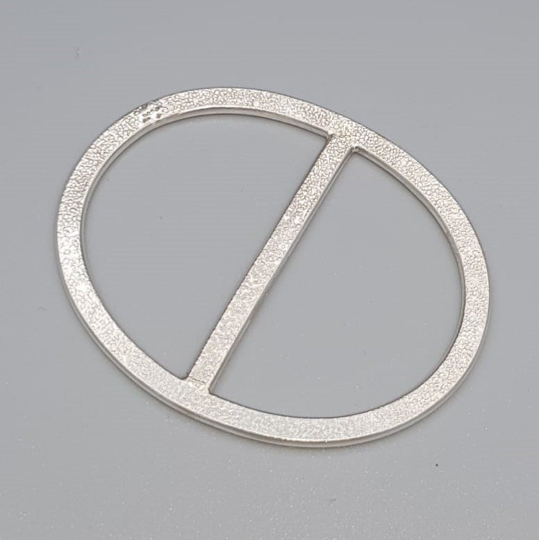 Zilveren sjaalring - Tell. TELL/004005/PRI/877