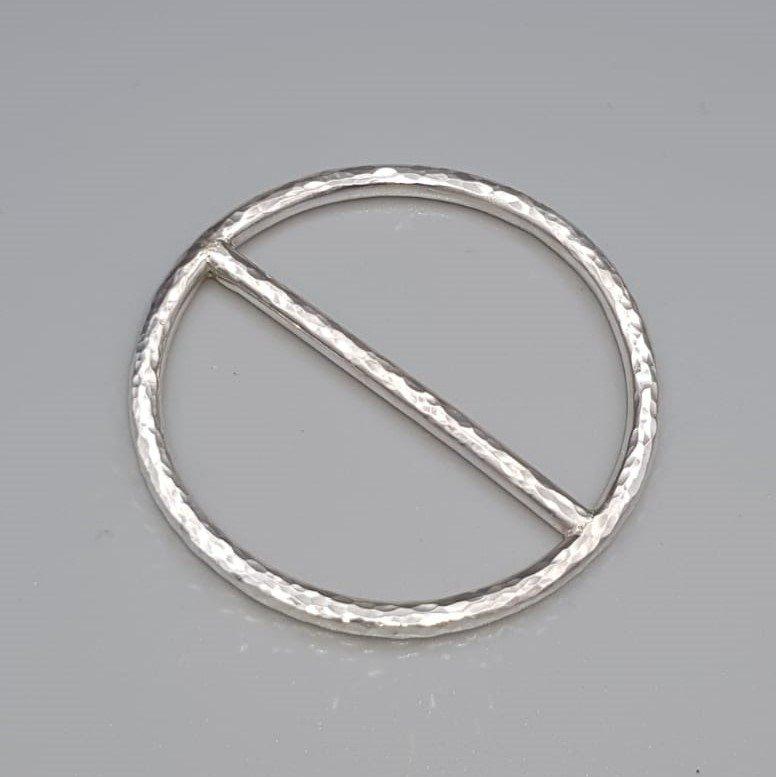 Zilveren sjaalring - Tell. TELL/004004/HAM/877
