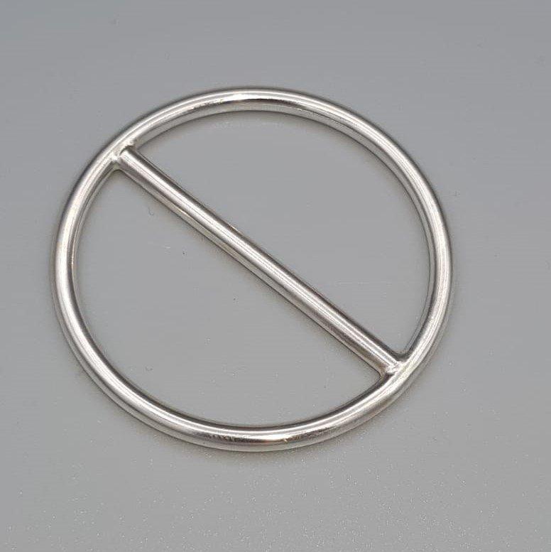 Zilveren sjaalring - Tell. TELL/004004/SMO/877