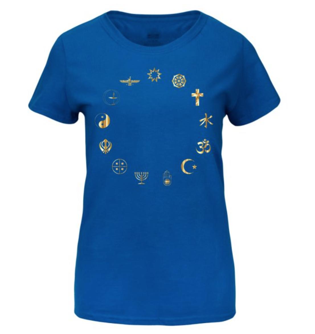 Equality Secular Symbols Women's Basic T-Shirt Large 00007