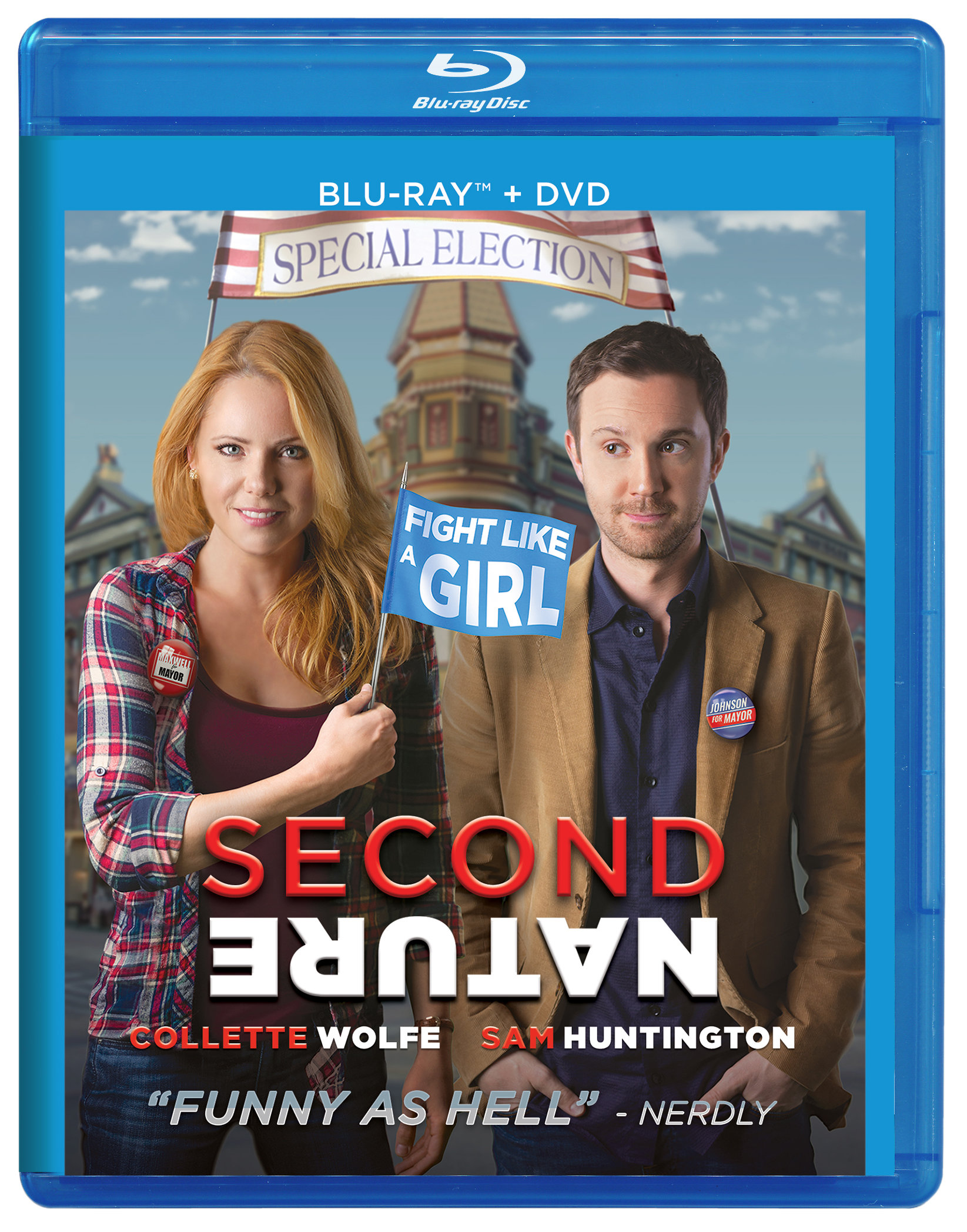 Second Nature Blu-ray + DVD Combo 00000