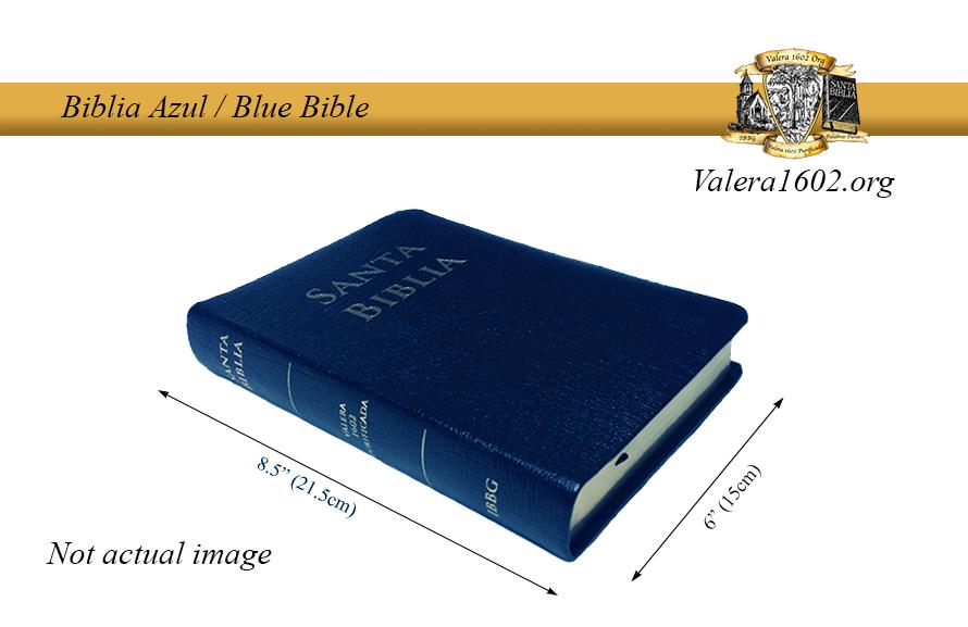 Biblia Azul / Blue Bible 00003