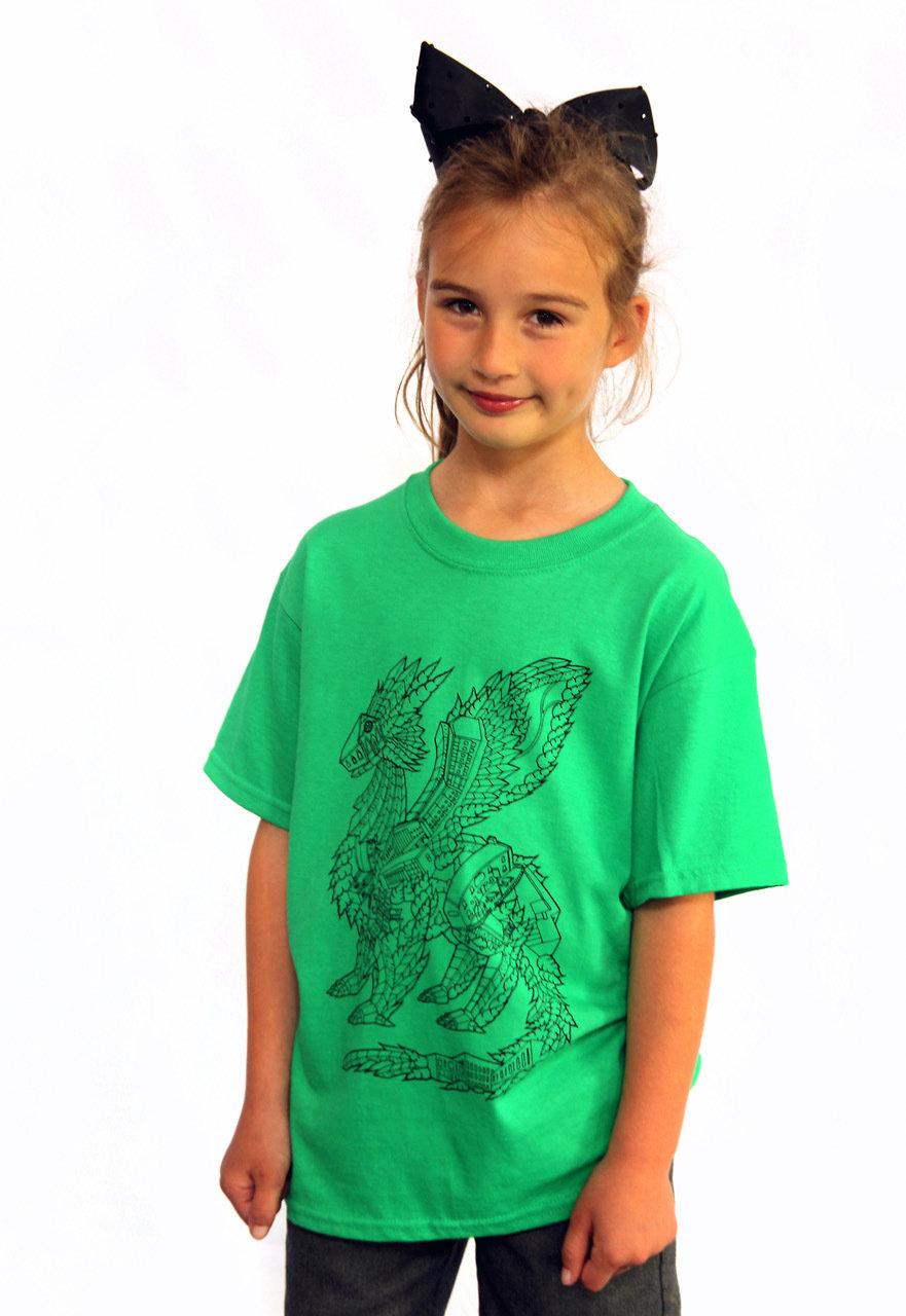 Zion Dragon T-Shirt - CHILDREN 00003