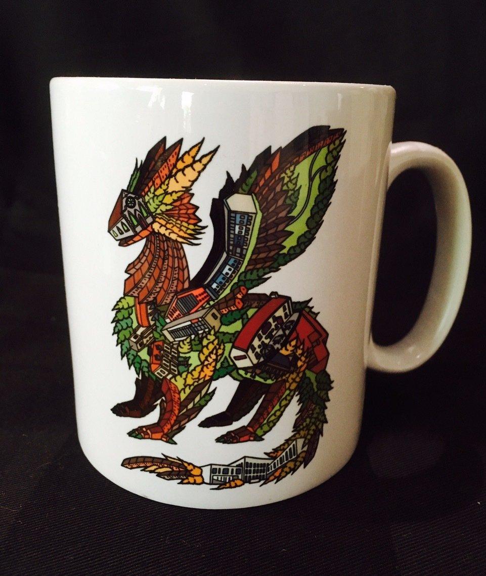 Zion Dragon Mug