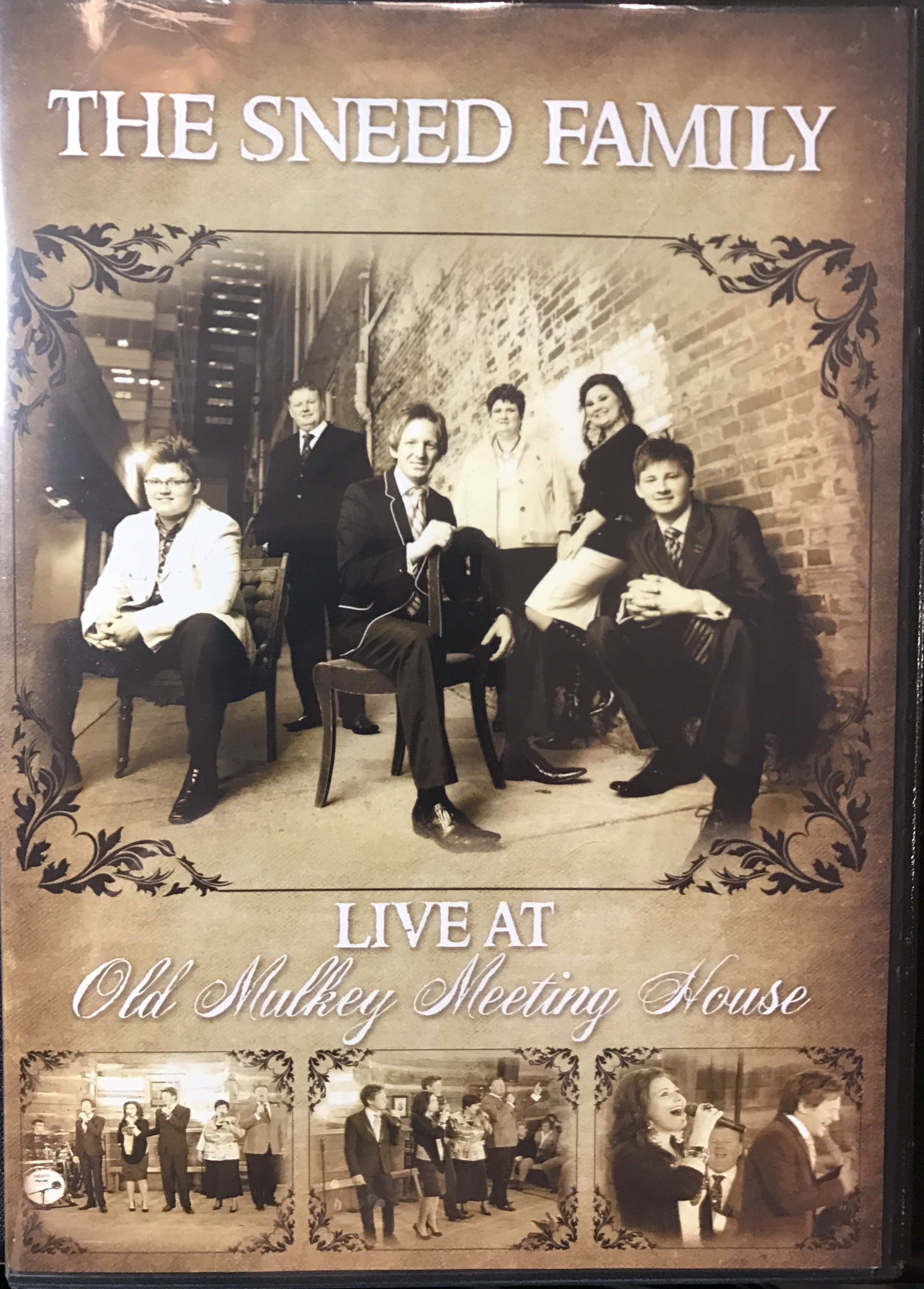 """LIVE AT """" Old Mulkey Meeting House""""  DVD FOR A DONATION OF 00006"""