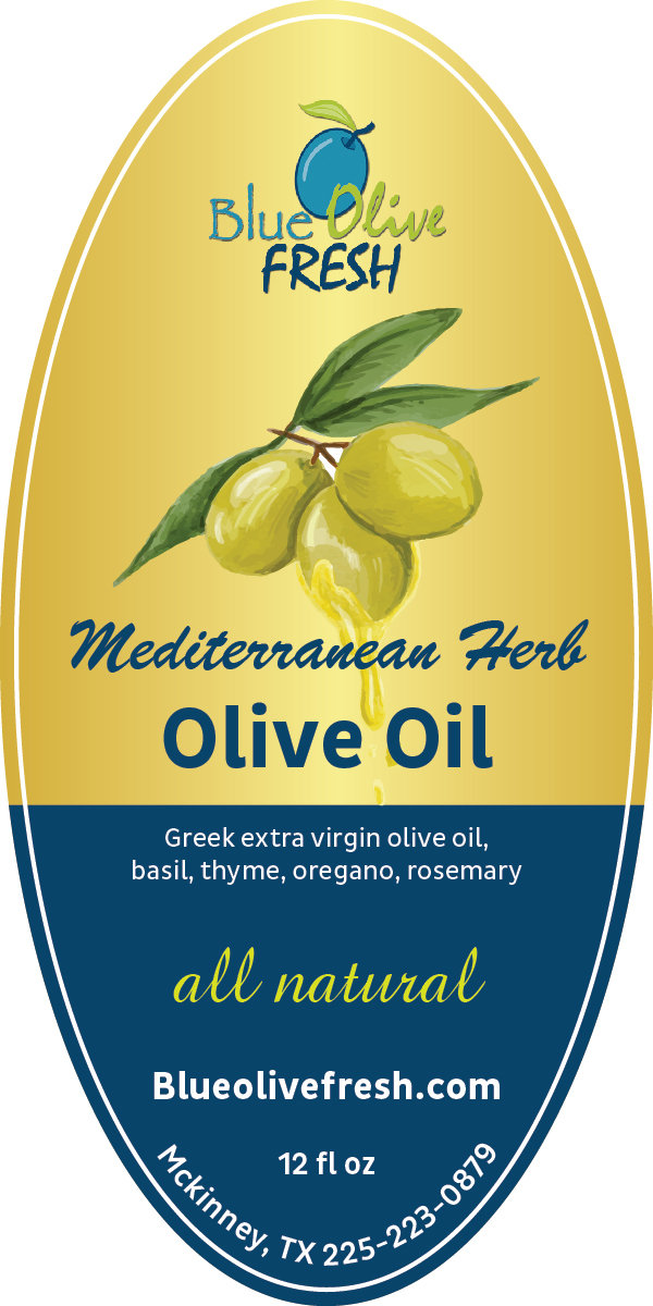 Mediterranean Herb Infused Olive Oil 00012