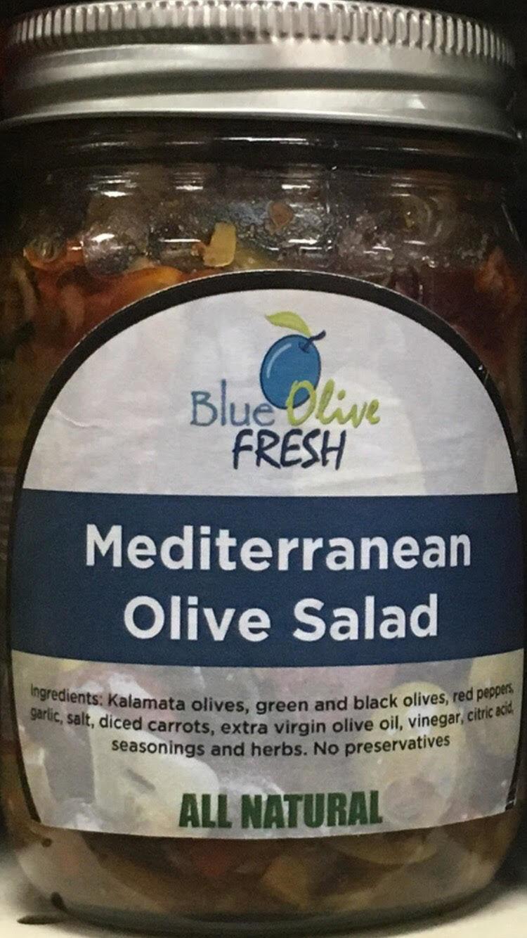Mediterranean Olive Salad 00020