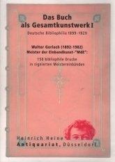 Das Buch als Gesamtkunstwerk (Walter Gerlach) I. a300101651