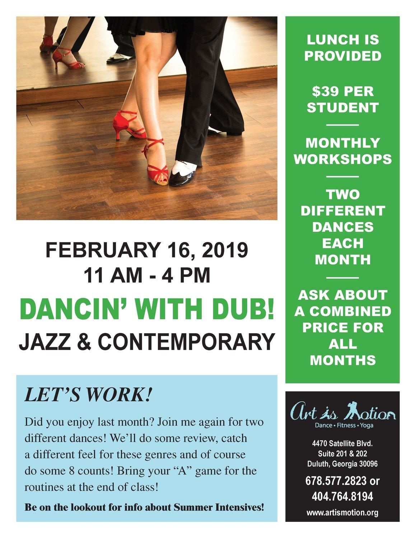 Dance Workshop - Jazz & Contemporary