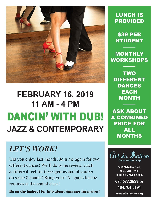 Teen Dance Workshop - Jazz & Contemporary