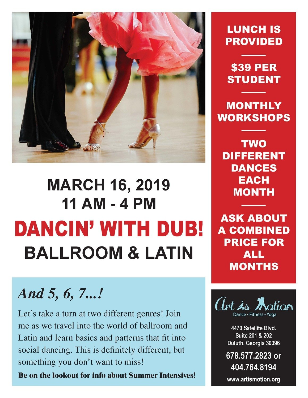 Teen Dance Workshop - Ballroom & Latin Dance