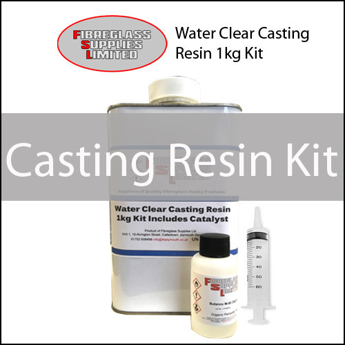 Water Clear Casting Resin Kits
