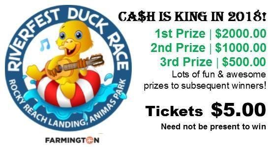 Duck Race Ticket 00004