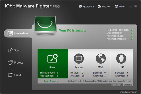 Download IoBit Malware Fighter 6.0.4.| Cracked Version