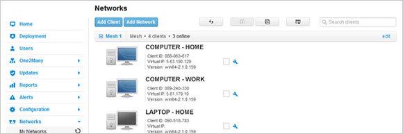Handle your virtual network virtually