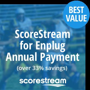 ScoreStream for Enplug - Annual Per Location (over 33% discount!) 00001