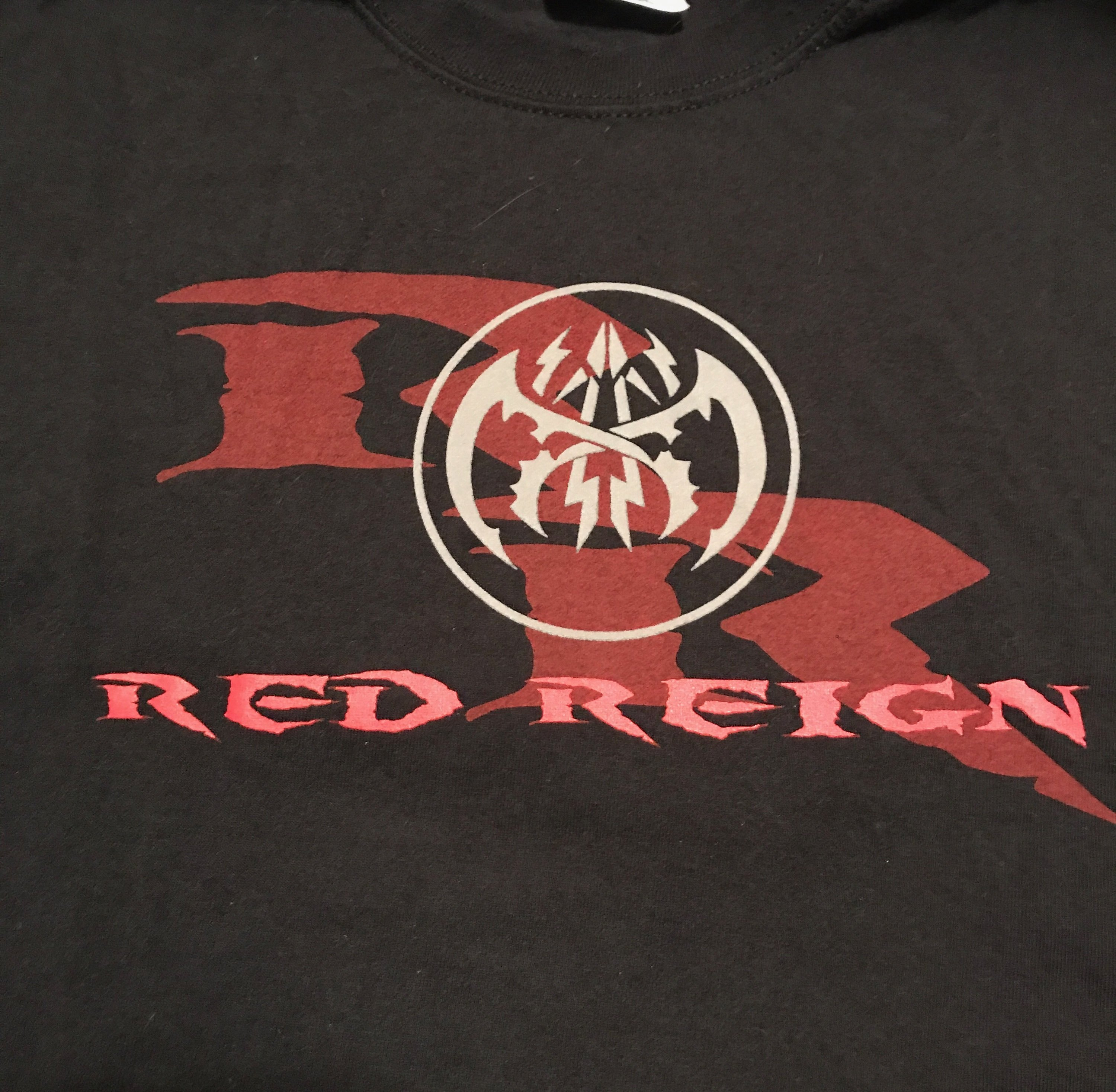 Red Reign T Shirt Style 1 Black 00001