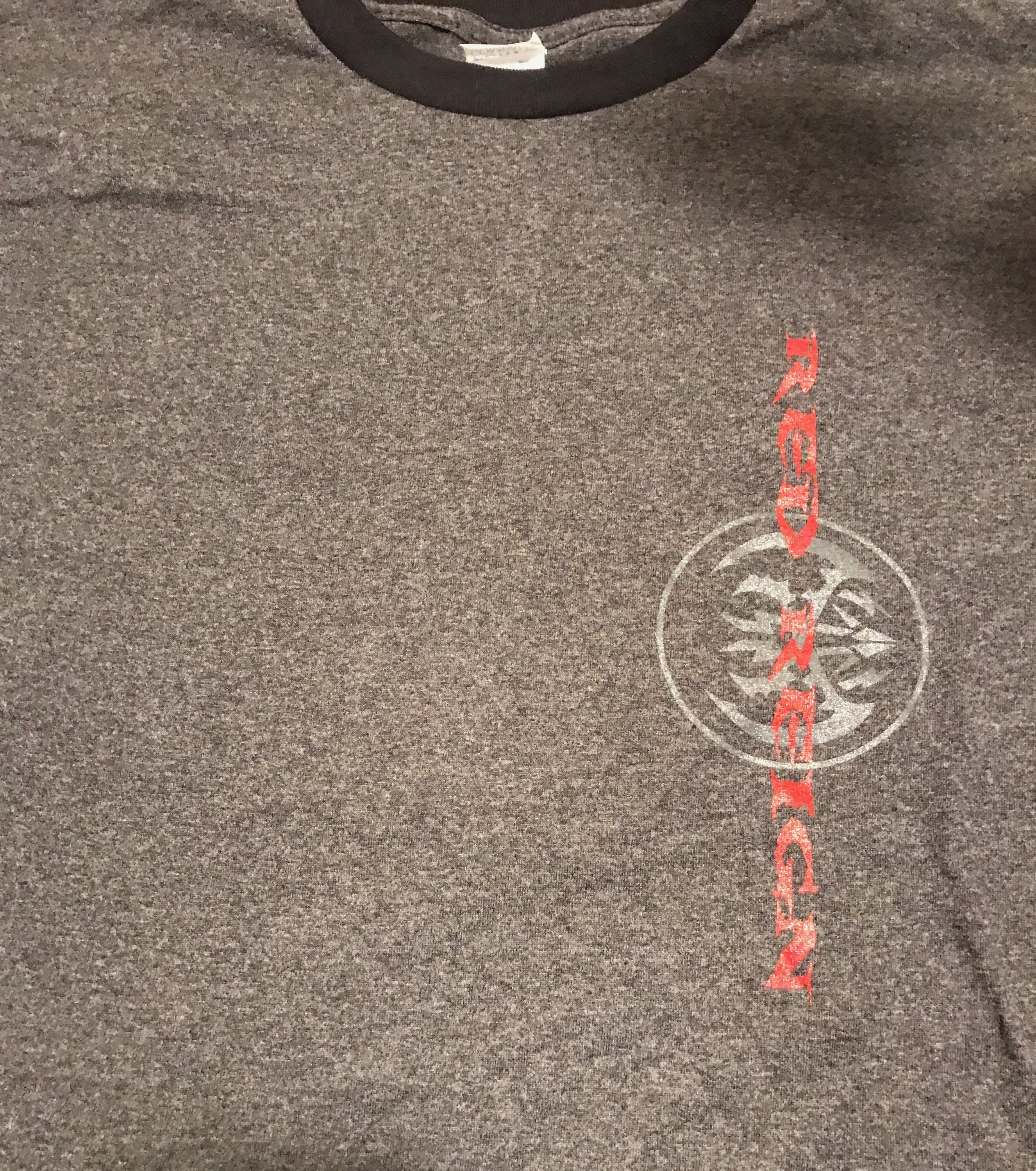Red Reign T Shirt Style 3 Heather Grey 00003