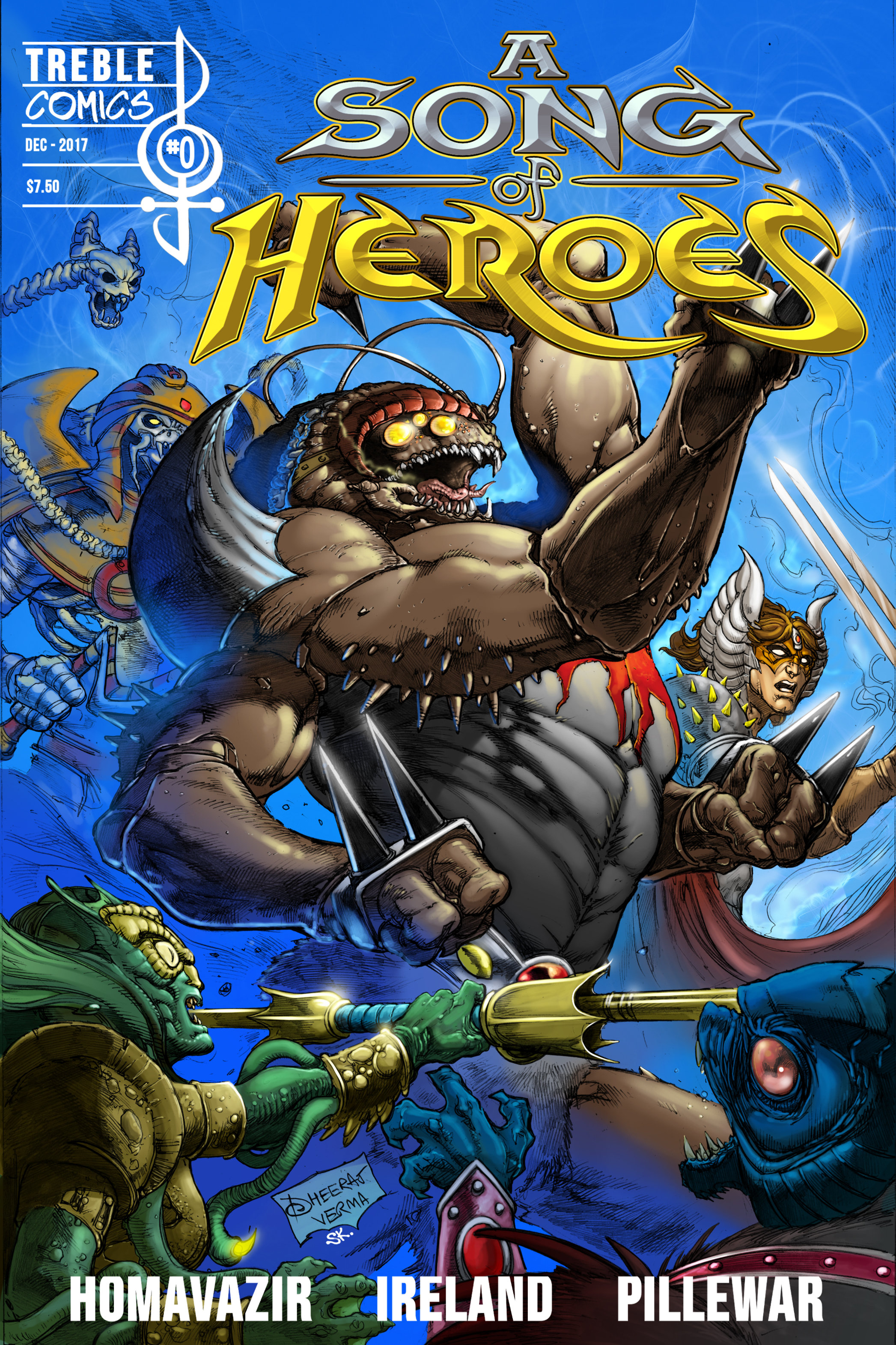 A Song of Heroes Issue 0 ASOH000