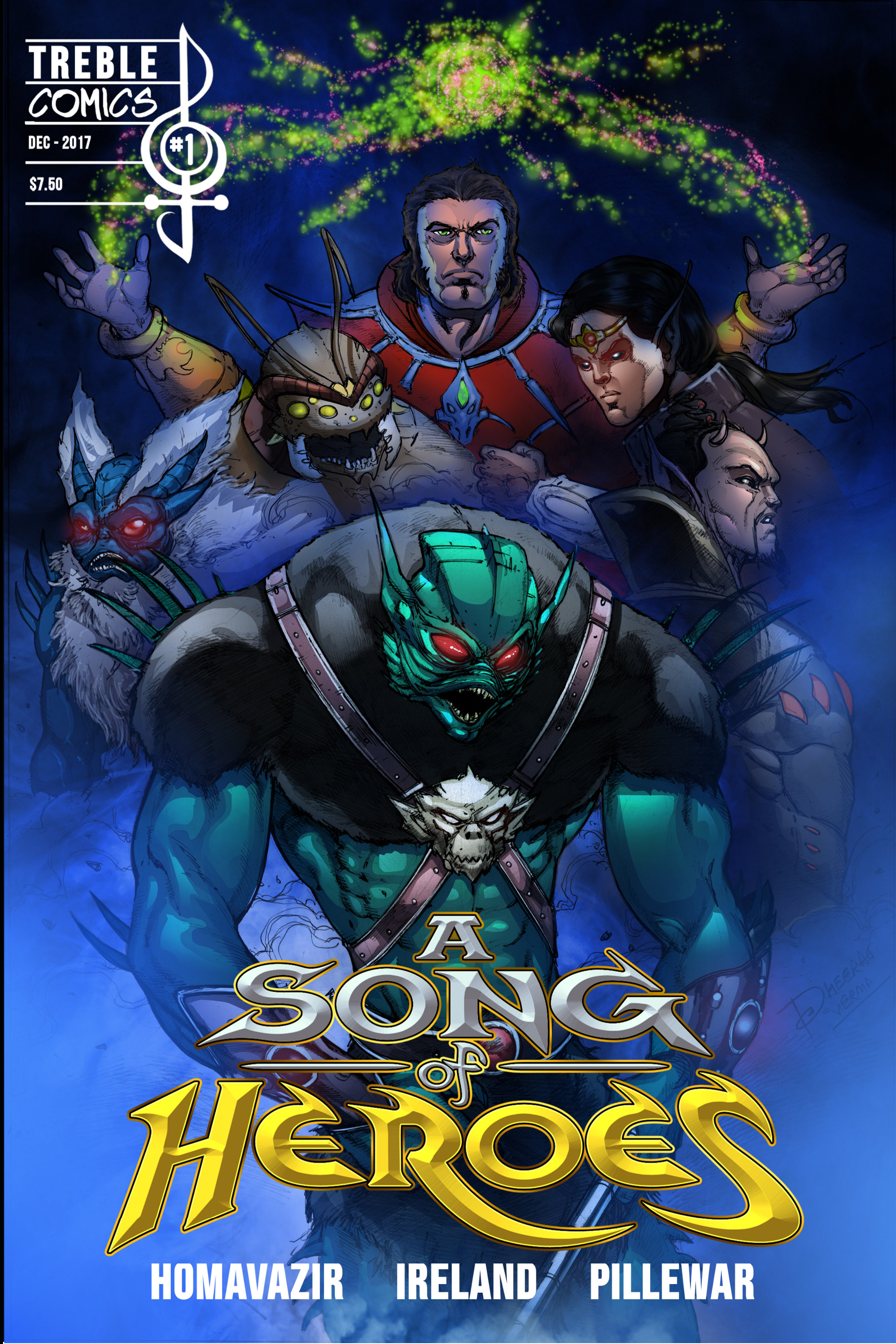 A Song of Heroes Issue 1 ASOH001