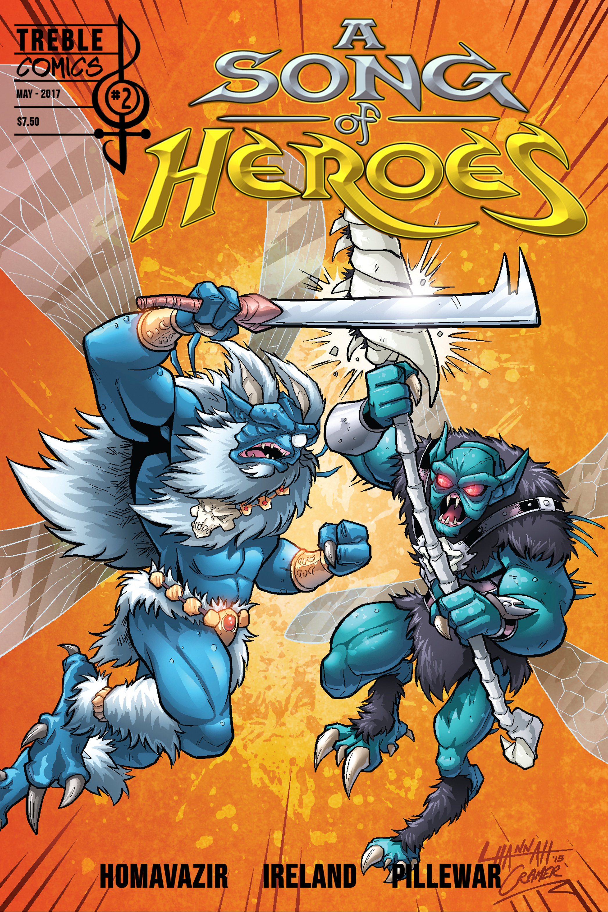 A Song of Heroes Issue 2 ASOH002