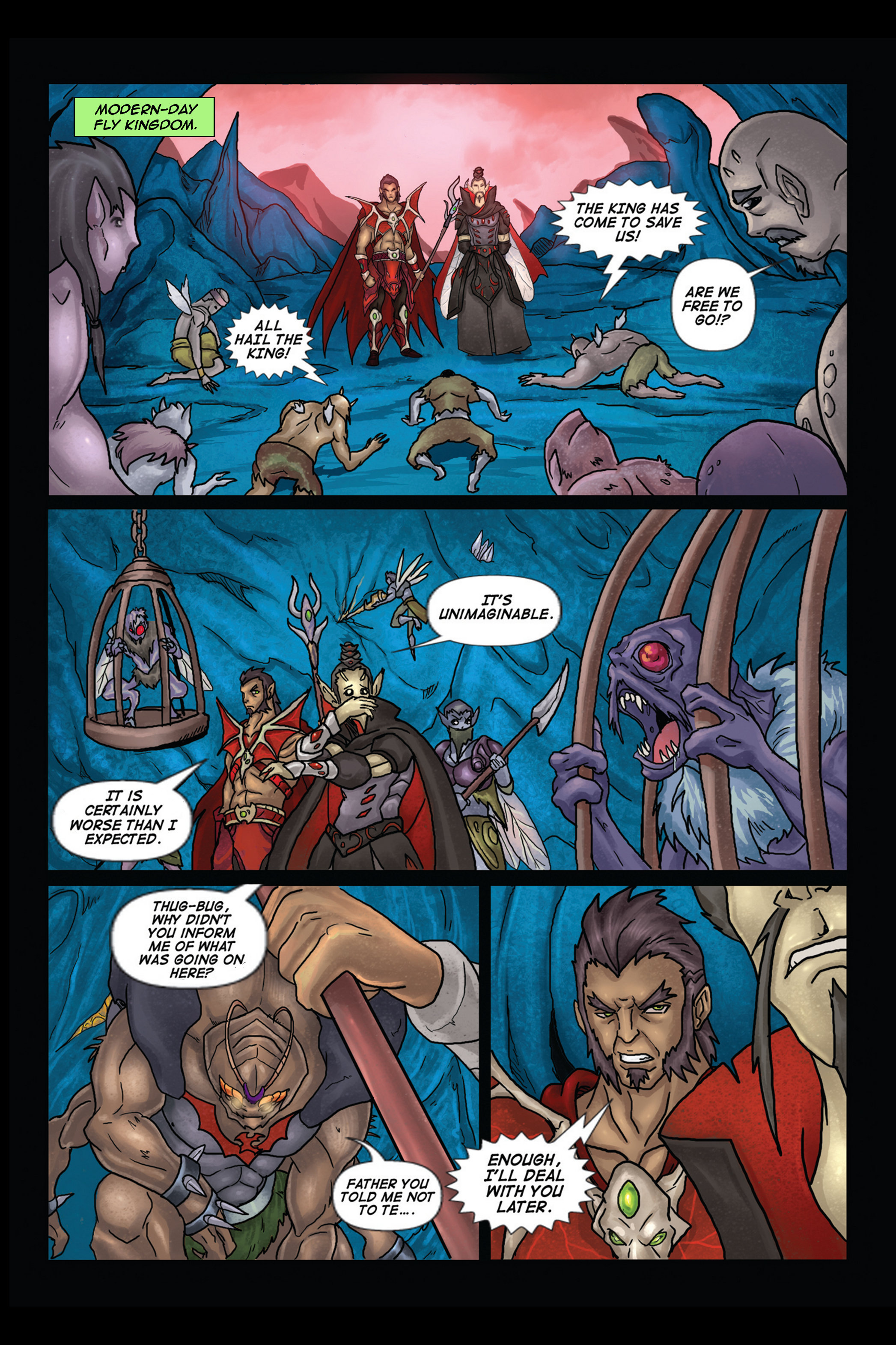 A Song of Heroes Issue 2