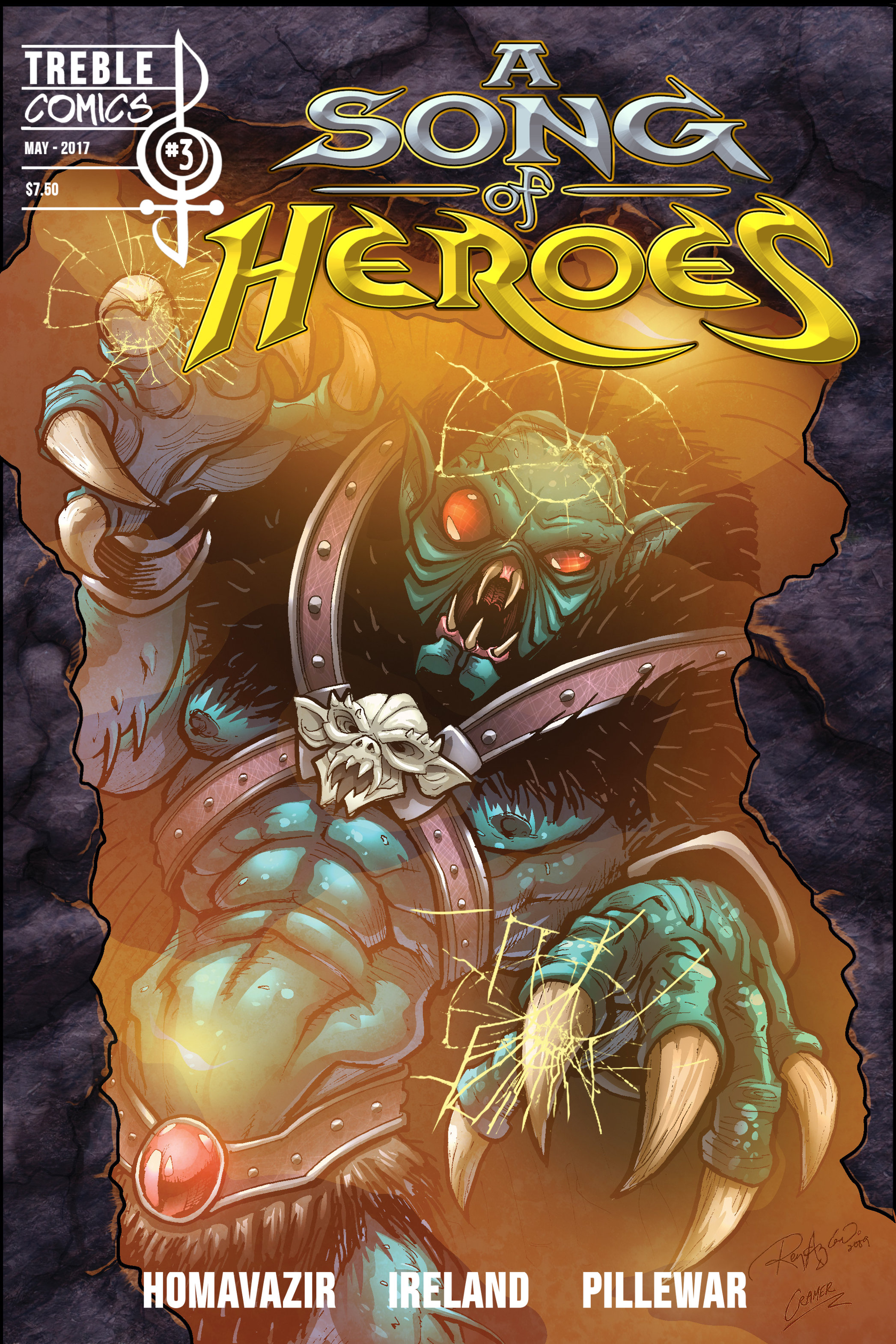 A Song of Heroes Issue 3 ASOH003