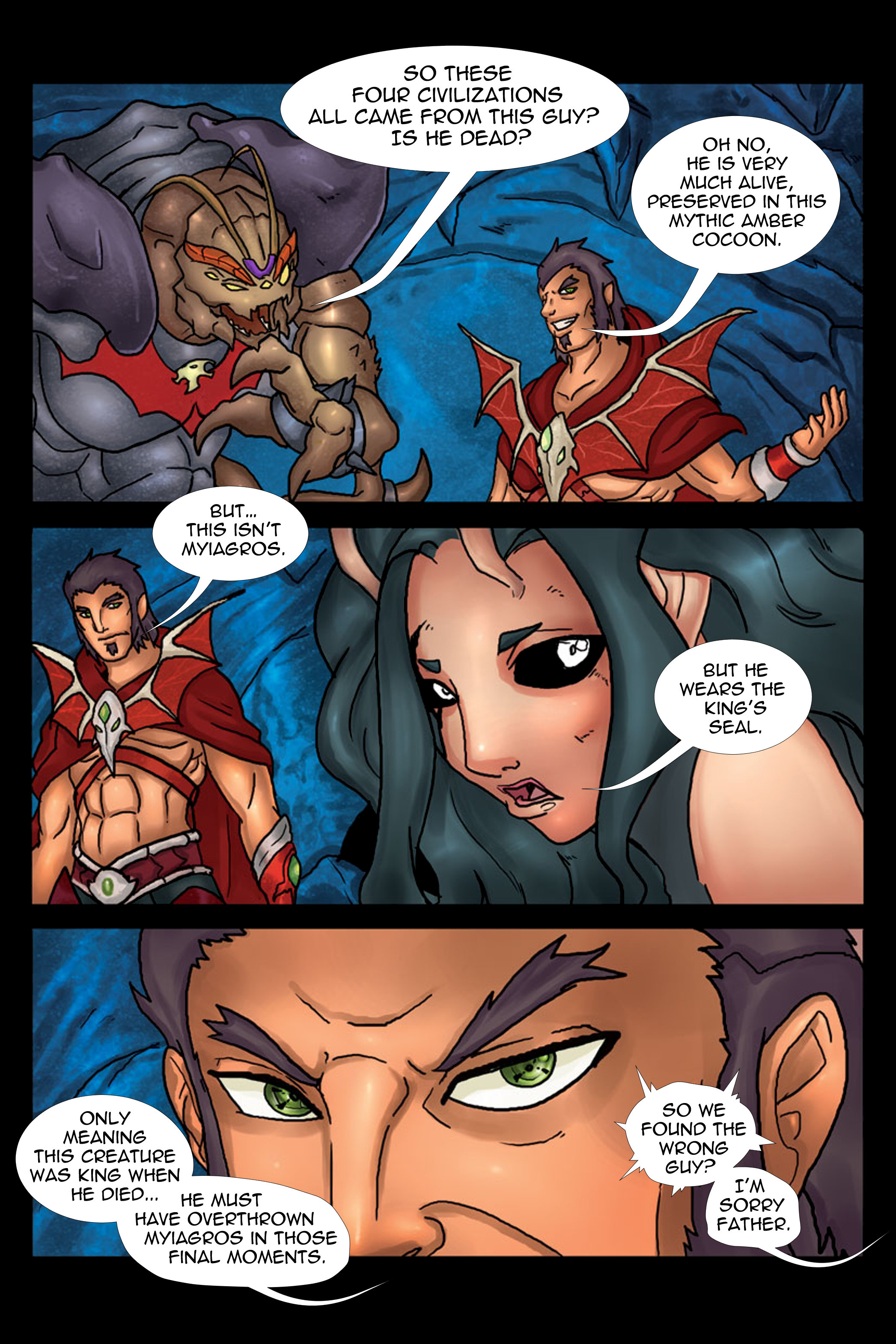 A Song of Heroes Issue 3