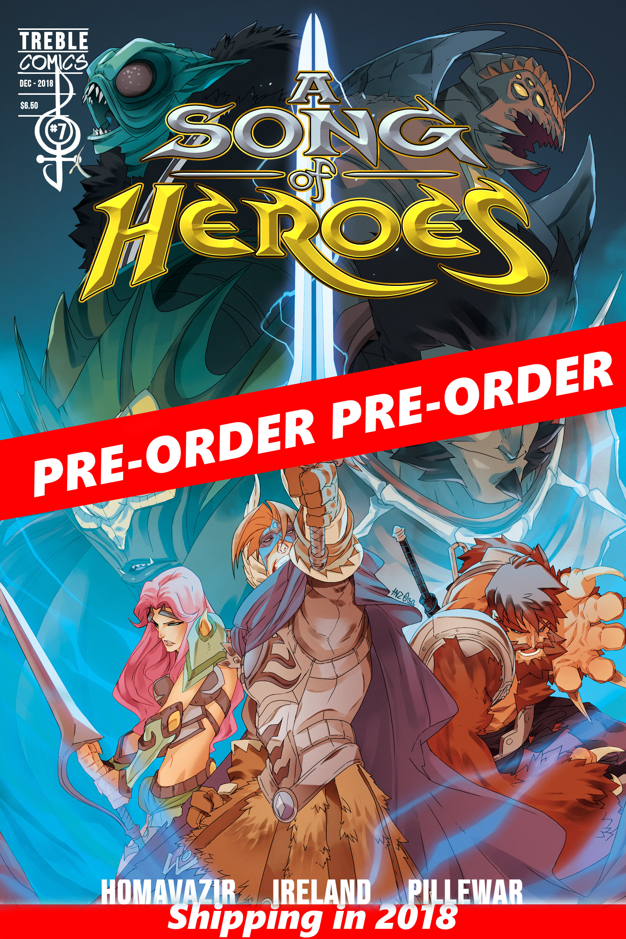 A Song of Heroes Issue 4 PRE-ORDER ASOH004