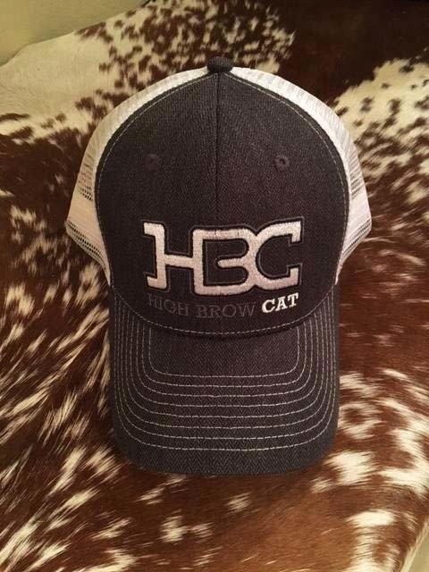 HBC Cap Grey & White 00002