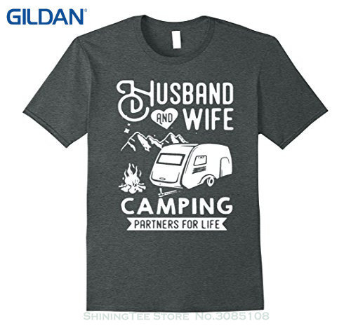 Husband & Wife Camping T-Shirt 01005