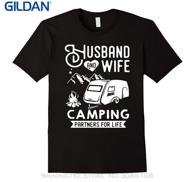 Husband & Wife Camping T-Shirt