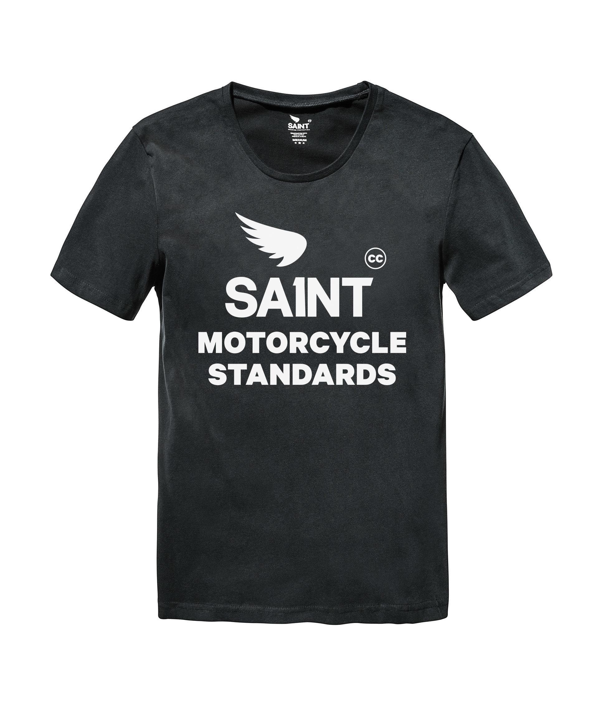 Saint Motorcycle Standards Tee - Black 7