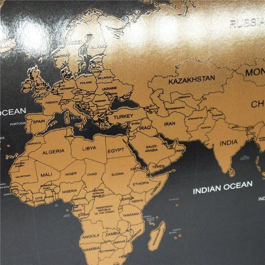 Карта в приближенном виде