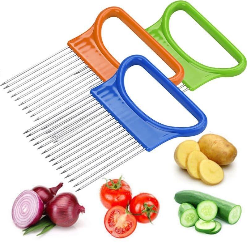 Держатель для резки лука и других овощей
