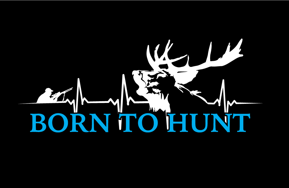 Born to hunt - stag 00000