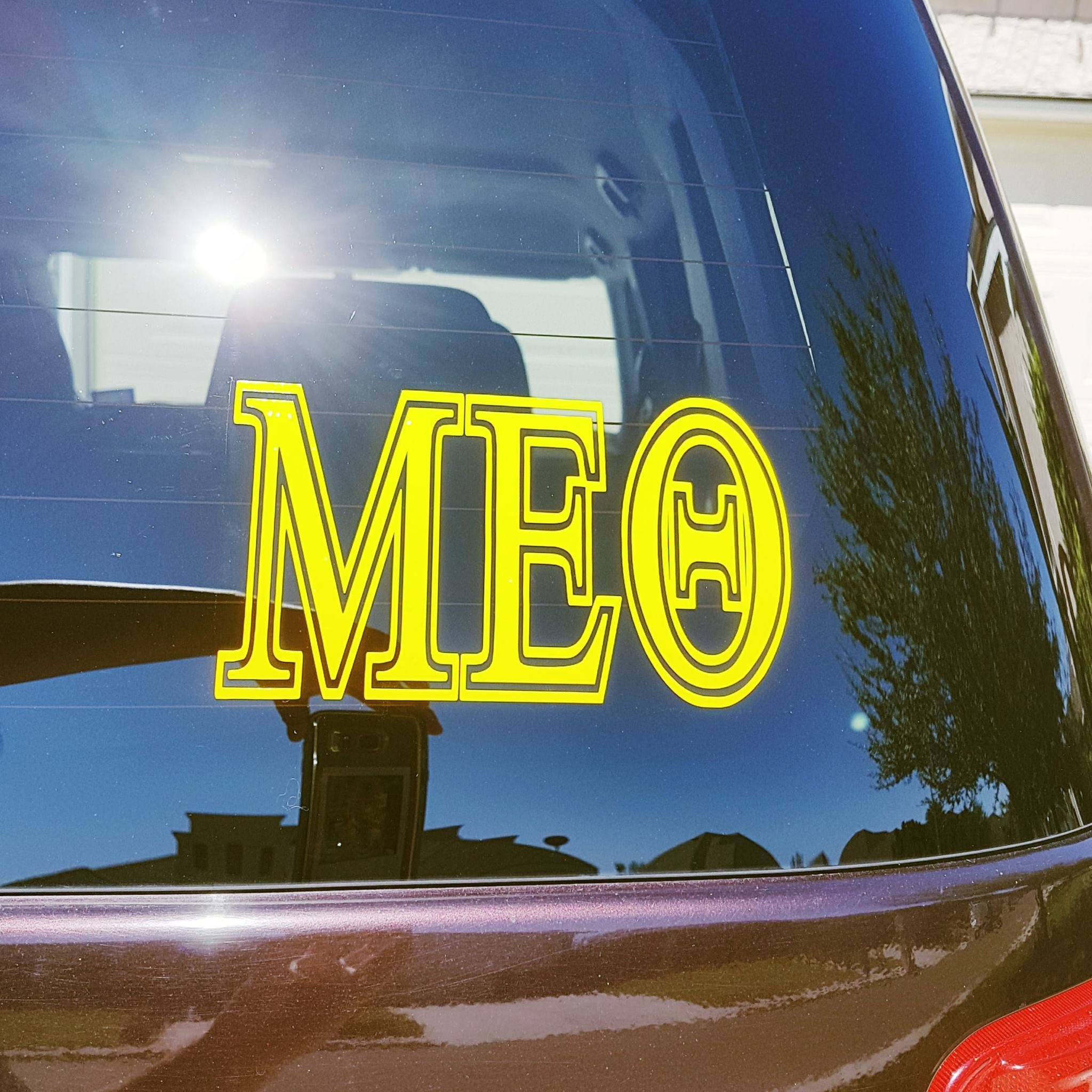 MEΘ Car Decal 10005