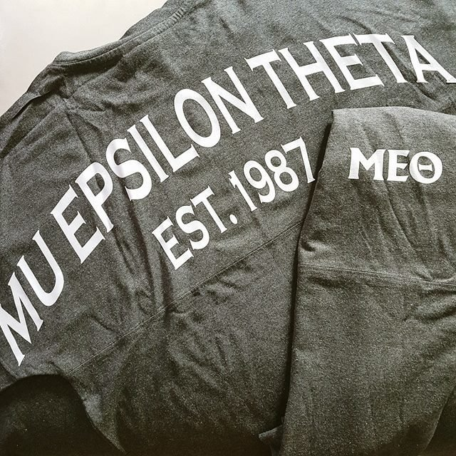 Mu Epsilon Theta Jersey Shirt 10007
