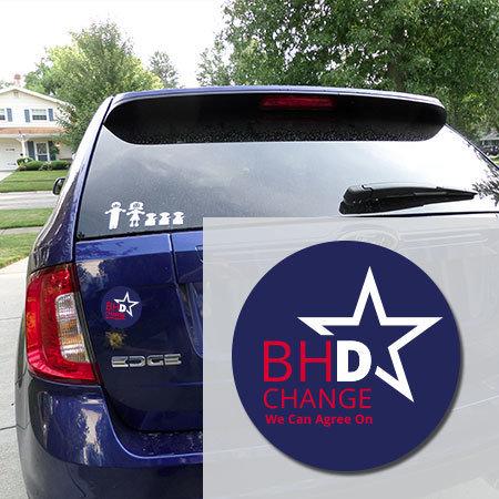 4 - inch BHDems Car Magnet BHDems Magnet