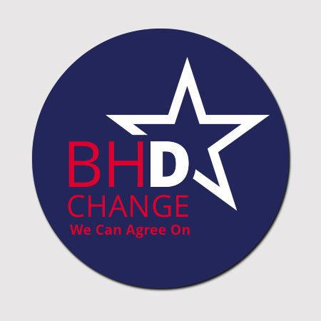 BHDems Car Magnet