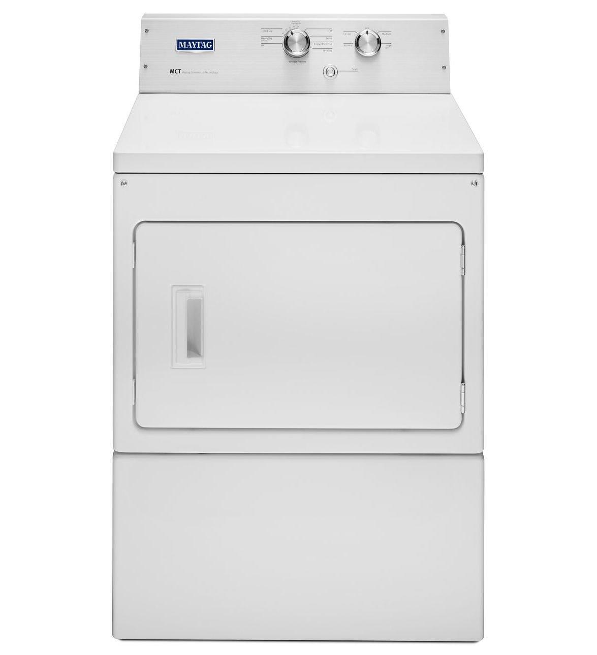 Maytag® 7.0 Cu. Ft. Large Capacity Dryer with IntelliDry® Sensor Technology MGDP475EW -  White